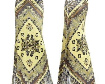 Moroccan Boho Sublimation Maxi Long Skirt Sizes Small/Medium/Large/XL/1XL/2XL/3XL