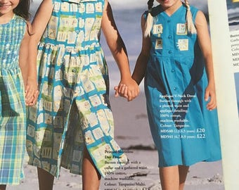Laura Ashley vintage Summer'97, new with tag, mother & child label, turquoise cotton, sleeveless dress, 3 years