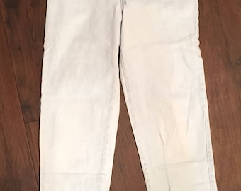 "Vintage 80's/90's light wash high waist ""Chic"" jeans"