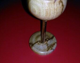 Bespoke Goblet - Hand Turned Wooden Goblet