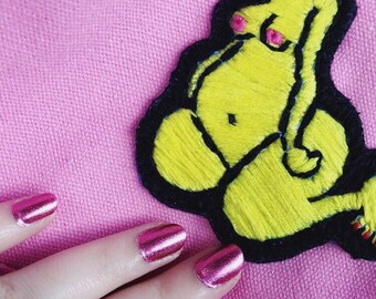 Hand Sewn Embroidery Patches