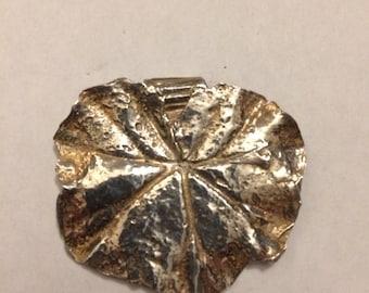 Silver Geranium Leaf