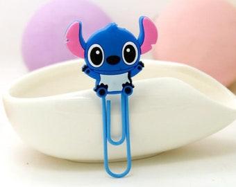 Stitch Paper clip Bookmark Disney Lilo and Stitch Bookmark Scrump Bookmark