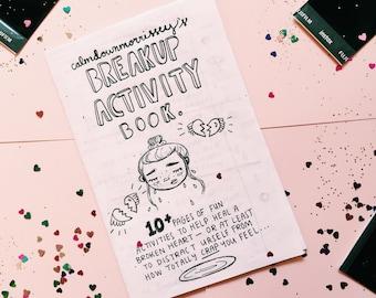 Breakup Activity Book Zine