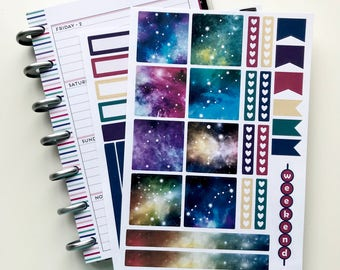 Astronomer - Mini Happy Planner Kit - Collection - Planner Stickers - Happy Planner