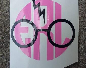 Harry Potter Inspired Monogram