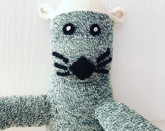 Custom friend for your dog or child - sock monkey otter dog cat horse bunny - sock friend - Examples here