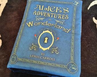 Alice in Wonderland Book Pillow