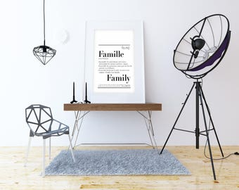 """Family"" definition poster"