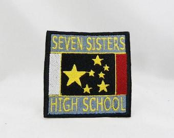 3 inch wide Persona 2 Seven Sisters High School cosplay patch Shin Megami Tensei