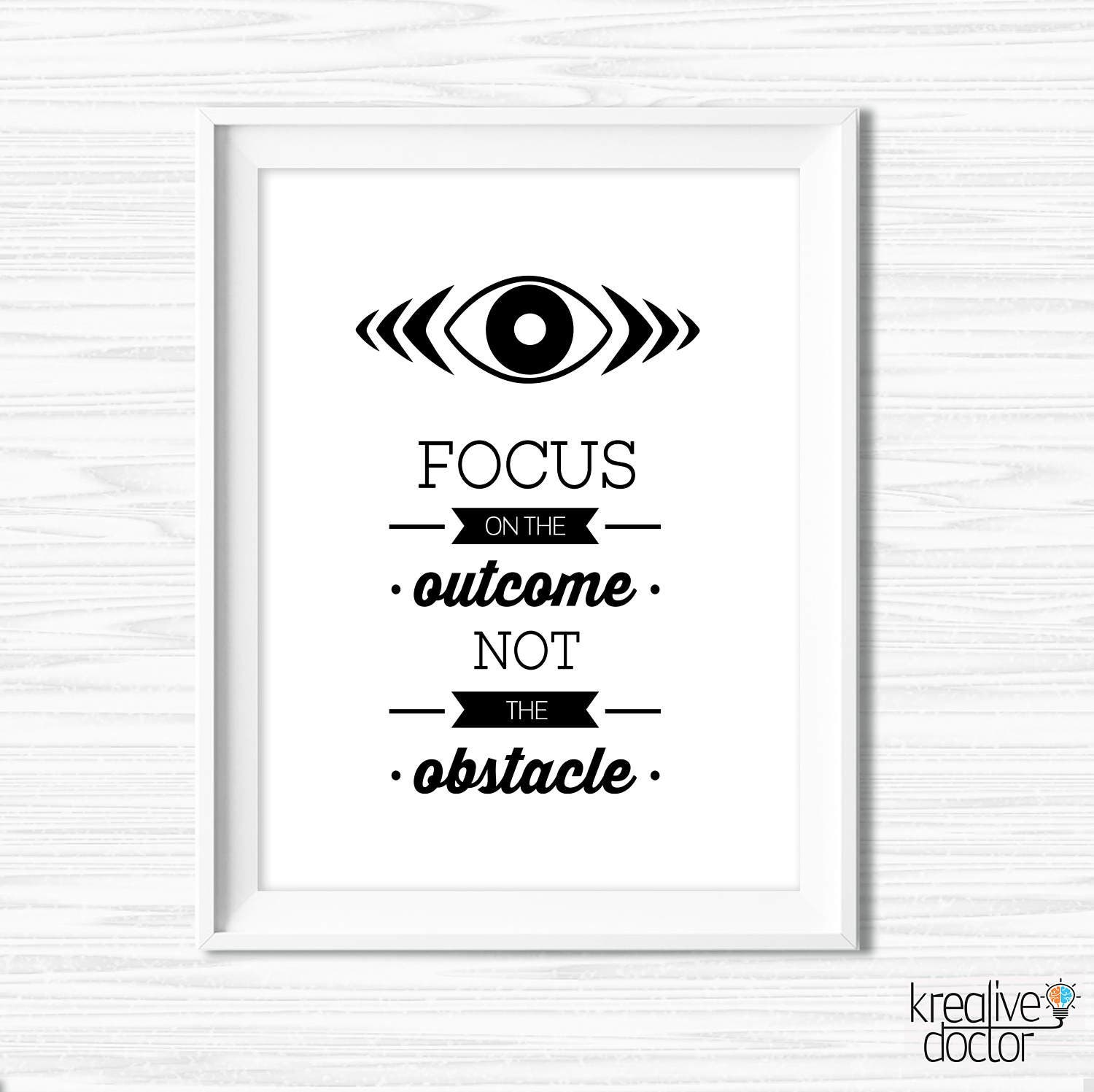Stay Focused Quotes Success Quotes Stay Focused Printable Office Wall Art Black