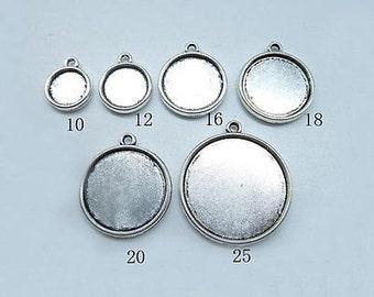10-25mm Double Sided Bezel Cups