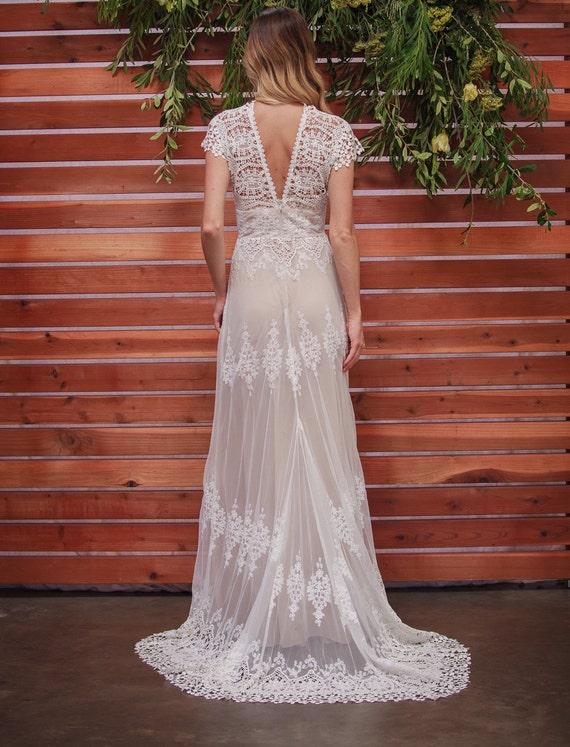 Cotton Lace Wedding Dresses