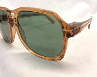 Vintage New Old Stock American Optical Dark Green G15 Sunglasses Never Sold or Worn Custom UV400 Lenses