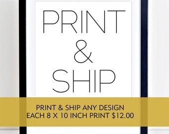 Print and Ship, Printed Art, High Quality Prints, 8 x 10 Wall Art, Frameable Art, Printed Digital Art, 8 x 10 print, Printed Artwork