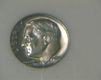 1978 P BU Roosevelt Dime