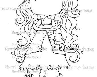 INSTANT DOWNLOAD Digital Digi Stamps Big Eye Big Head Dolls My Besties Pals My Little Dimples Img934 By Sherri Baldy