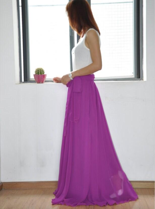 Pink Chiffon Silk Dress