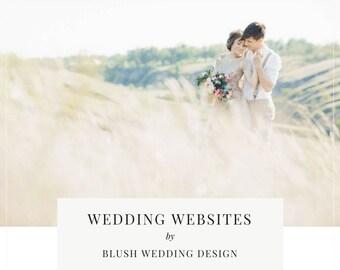 Limited Edition Wedding Website