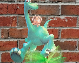 1 Disney The Good Dinosaur themed Cake Topper or Centerpiece Pick