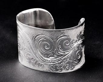 100% handmade cuff bracelet Ag 925/000