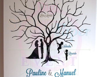 Tree with imprints of Pauline and manual