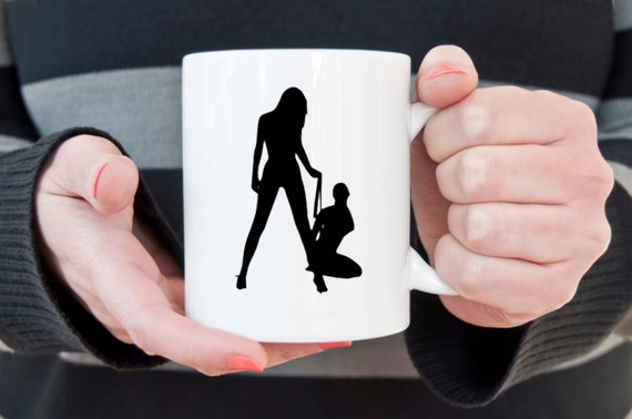 Slave coffee mug, BDSM, slave girl, coffee mug, coffee cup, gifts for him, gifts for her, gifts under 20, LGBT, domination, submissive