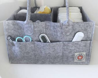 Nappy Caddy / Diaper Caddy / Baby Changing Storage