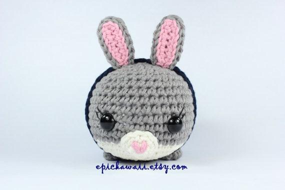 Tsum Tsum Amigurumi Pattern Free : Pattern judy hopps zootopia tsum tsum crochet amigurumi doll