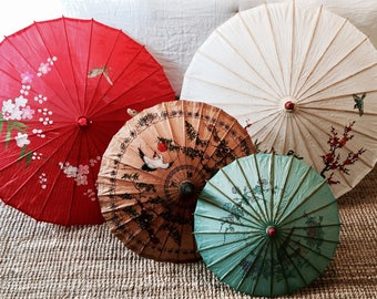 Chinese umbrella | Chinese art | Eclectic deco | Vintage art