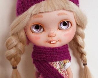 Winter set for Blythe - Violet/purple