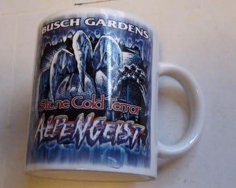 Busch Gardens alpengeist mug