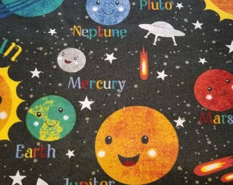 PERSONALIZED OUTER SPACE Planets Cosmos Kids Pillowcases standard single Custom