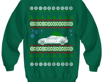 Hyundai Genesis Coupe Ugly Christmas Sweater Xmas Kdm Korean Car Lover Jdm  Boosted Shirt