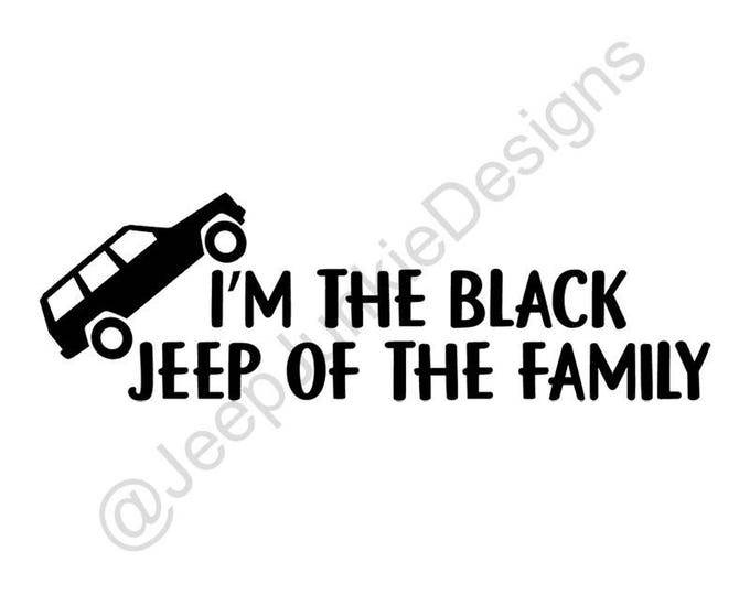 Black Jeep of the Family XJ