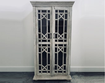 WOODEN DISPLAY CABINET / Armoire