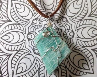 Amazonite Rough Necklace