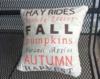 Decorative Fall Pillow
