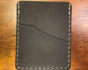 Vertical slim wallet