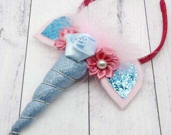 Unicorn Headband, headband, girls headband, unicorn