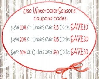 Discount coupon code etsy watercolorseasons coupon code fandeluxe Images