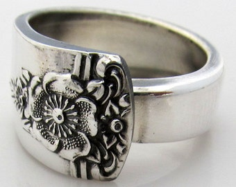 Spoon Ring Choose Your Size Spring Charm