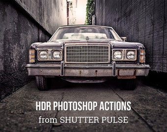 HDR Photoshop Actions - Adobe Photoshop Actions