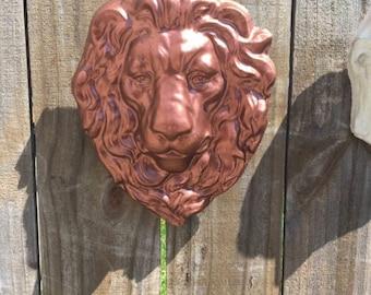 Garden Lion Face