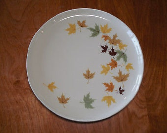 "Vintage FRANCISCANWARE INDIAN SUMMER 10"" dinner plate 1958"