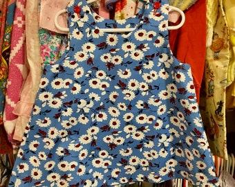 Handmade Floral Dress 3/4