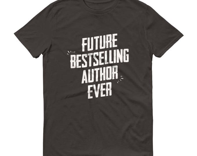 Writer gifts, Men's Future Bestselling Author Ever t-shirt - Author gift, gift for author, gifts for writers, novelist gift