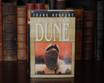 Heretics of Dune Frank Herbert First Edition Ace Books 1984 Hardcover w/ Dust Jacket Science Fiction Home Library Decoration