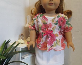 "Petal Power 2 piece Outfit--Fits 18"" doll LIKE American Girl"