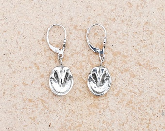 Horse hoof earrings, silver horse hoof, gold horse hoof,barefoot earrings, bare hoof earrings,  silver hoof earrings, horse earrings